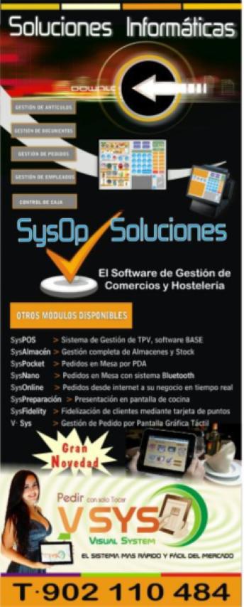 Cartel para una conferencia de presentación y SIMO 2011